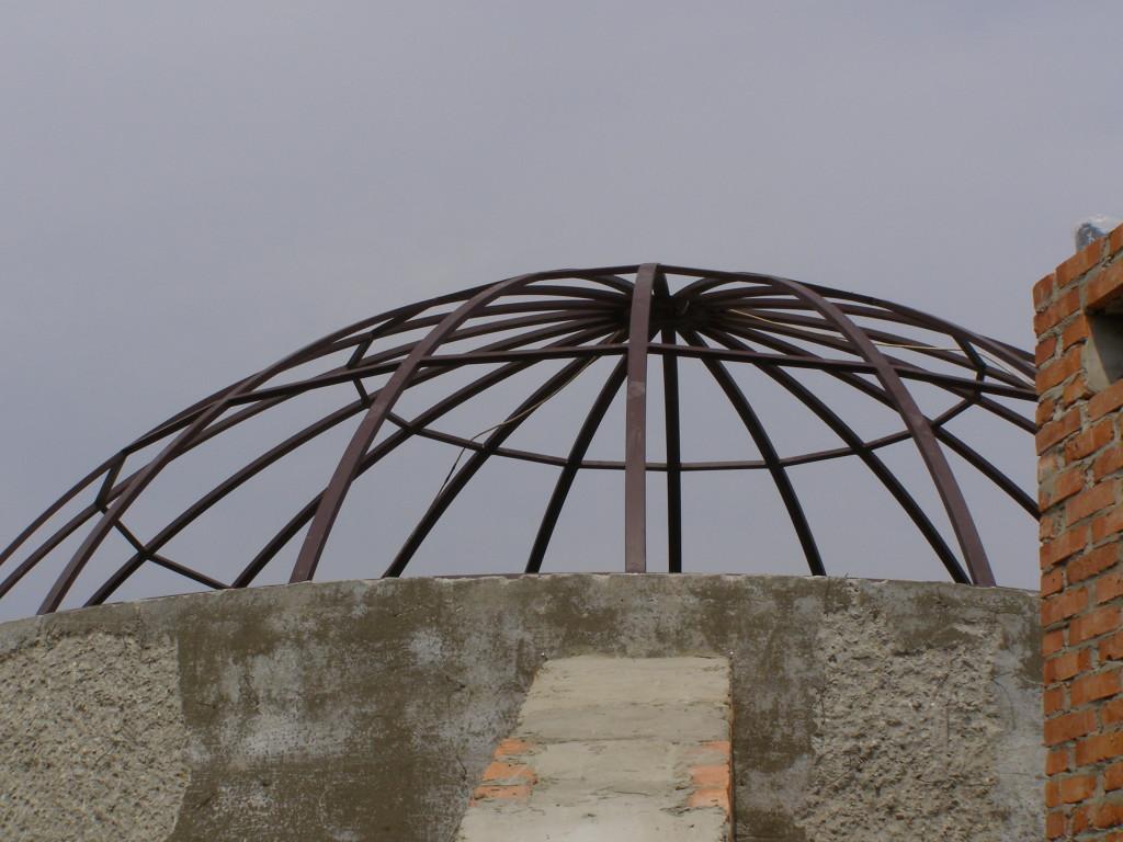 Купольный навес «крыша» из сотового поликарбоната