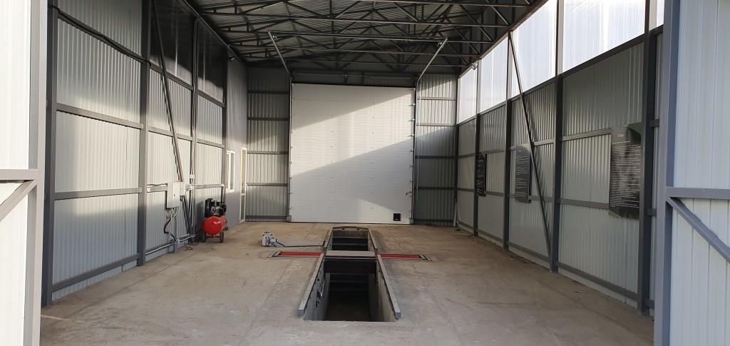 Строительство станции техобслуживания в Краснодаре